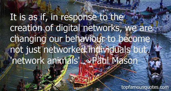 Paul Mason Quotes