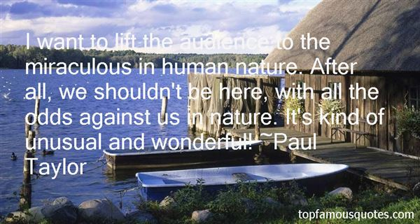 Paul Taylor Quotes