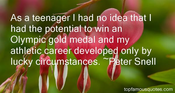 Peter Snell Quotes