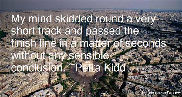 Petra Kidd Quotes