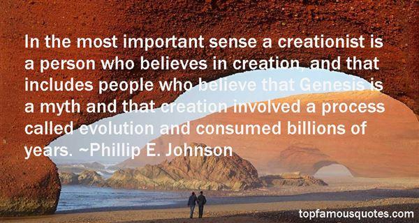 Phillip E. Johnson Quotes