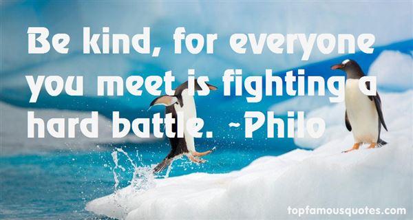 Philo Quotes
