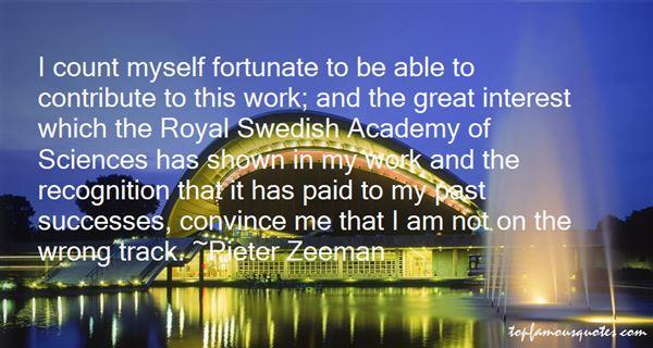 Pieter Zeeman Quotes