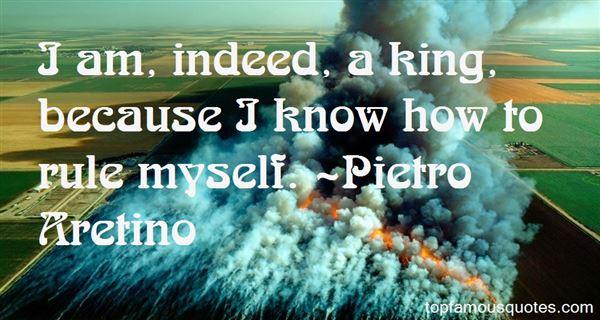 Pietro Aretino Quotes