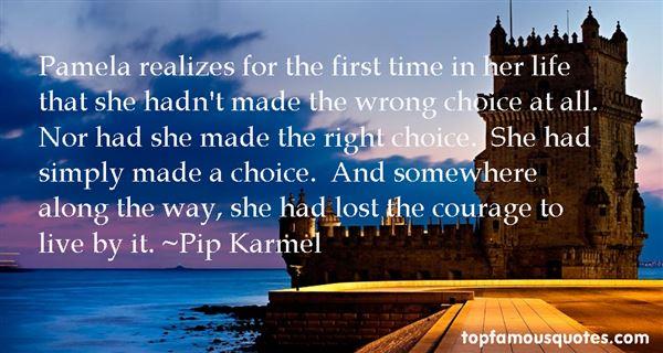 Pip Karmel Quotes