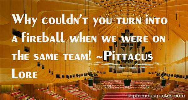 Pittacus Lore Quotes