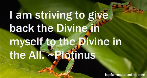 Plotinus Quotes