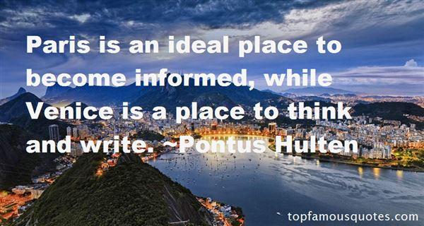 Pontus Hulten Quotes