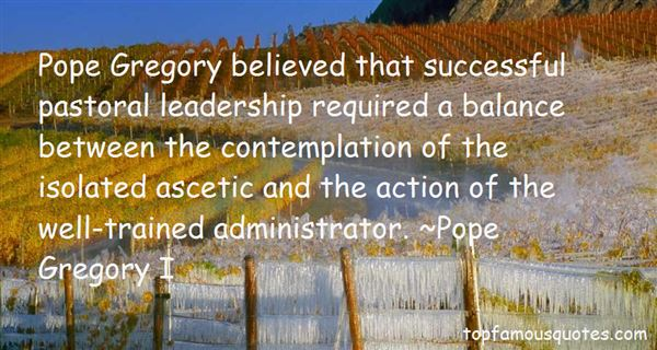 Pope Gregory I Quotes