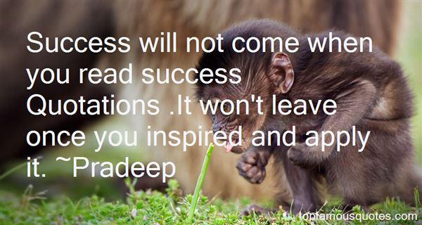 Pradeep Quotes