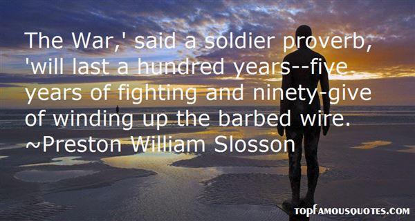 Preston William Slosson Quotes