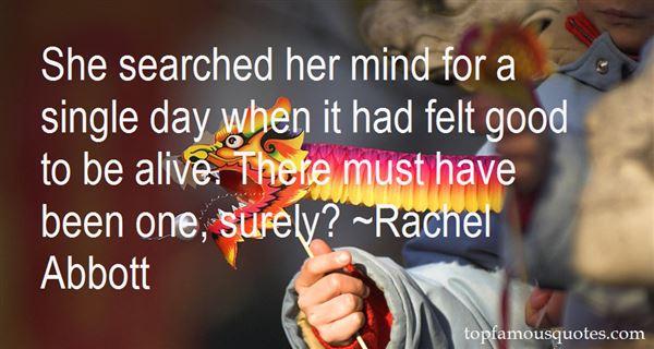 Rachel Abbott Quotes