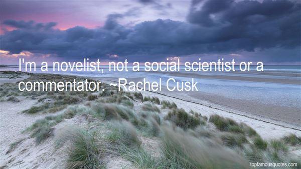 Rachel Cusk Quotes