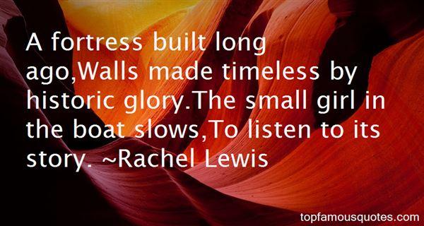 Rachel Lewis Quotes