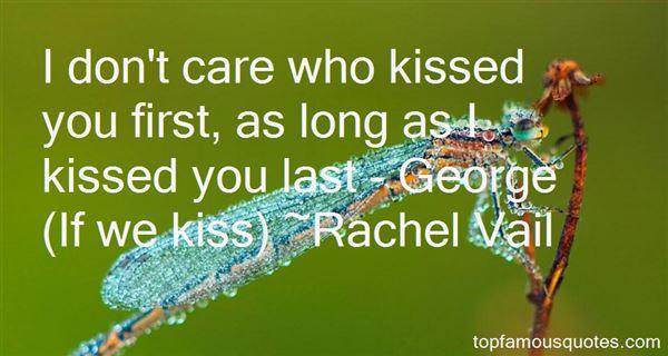 Rachel Vail Quotes