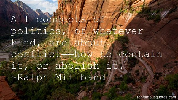 Ralph Miliband Quotes