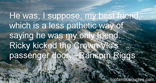 Ransom Riggs Quotes