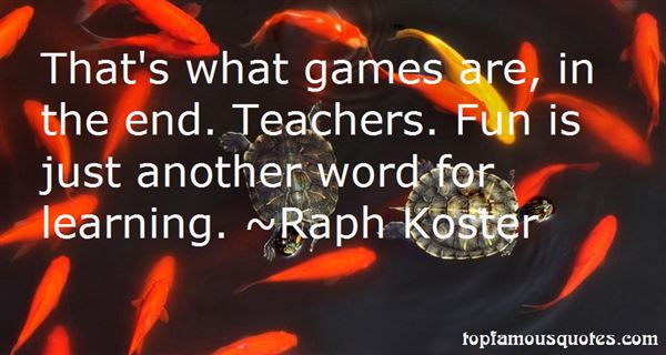 Raph Koster Quotes