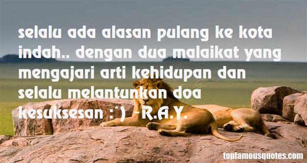 R.A.Y. Quotes