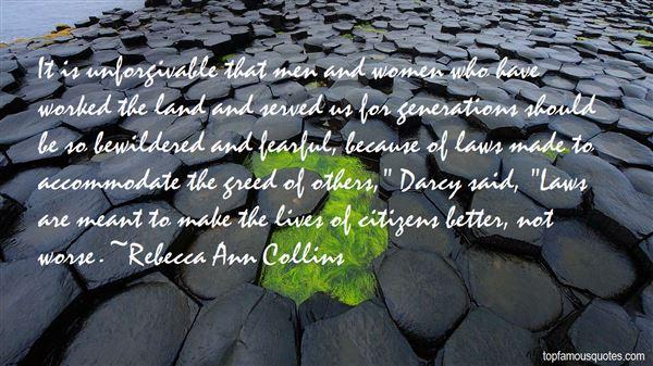 Rebecca Ann Collins Quotes