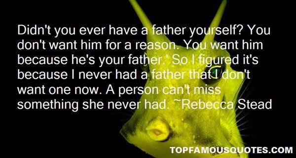 Rebecca Stead Quotes