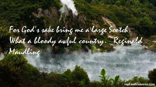 Reginald Maudling Quotes