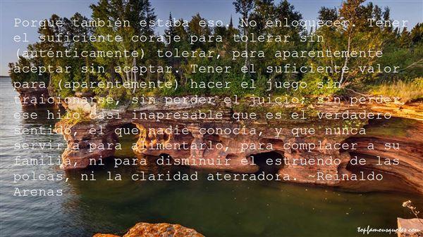 Reinaldo Arenas Quotes