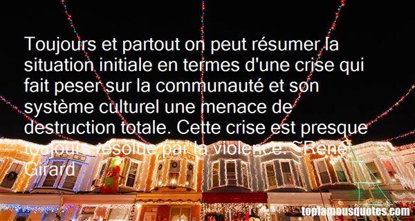René Girard Quotes