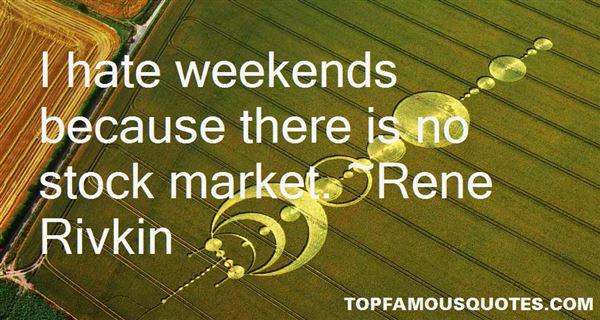 Rene Rivkin Quotes