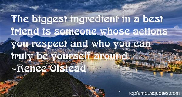 Renee Olstead Quotes