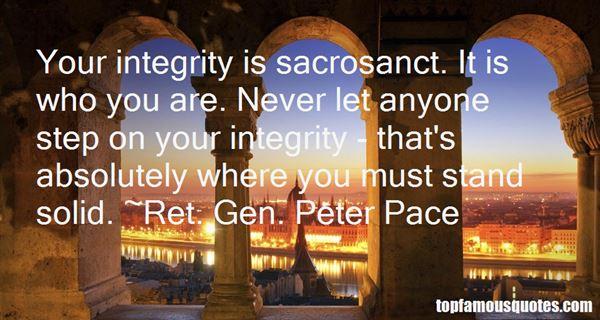 Ret. Gen. Peter Pace Quotes