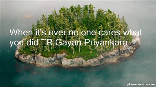 R.Gayan Priyankara Quotes
