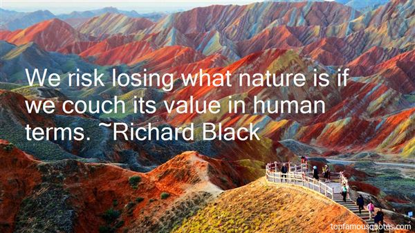 Richard Black Quotes