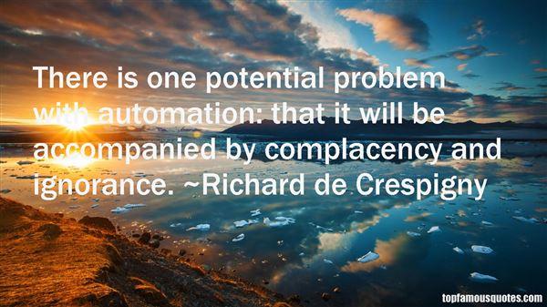 Richard De Crespigny Quotes