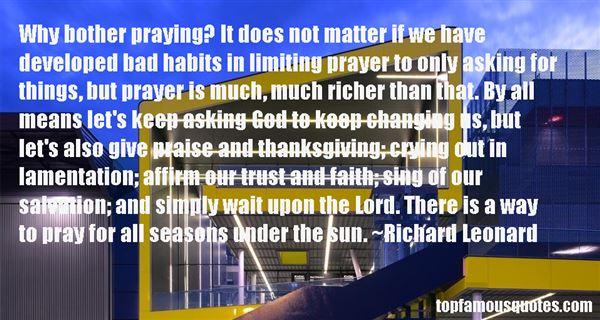 Richard Leonard Quotes