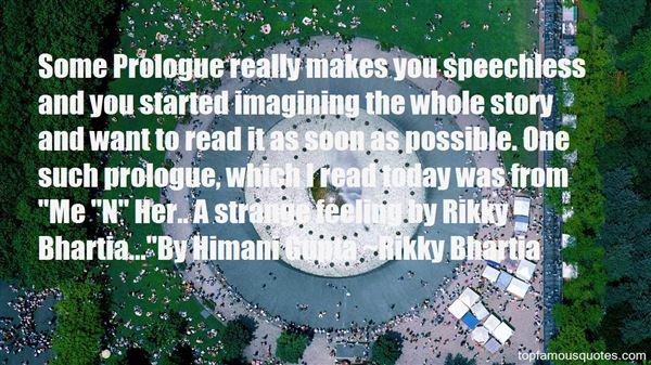 Rikky Bhartia Quotes