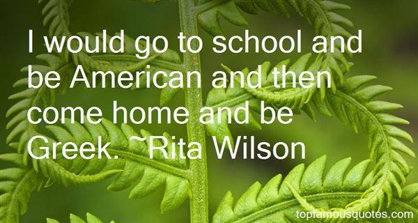 Rita Wilson Quotes