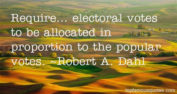 Robert A. Dahl Quotes