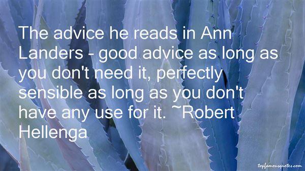 Robert Hellenga Quotes