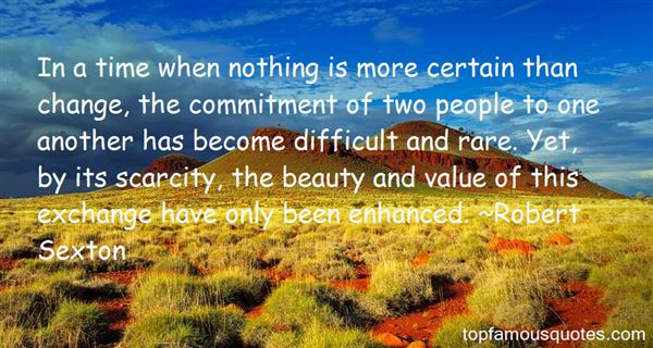 Robert Sexton Quotes