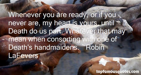 Robin LaFevers Quotes