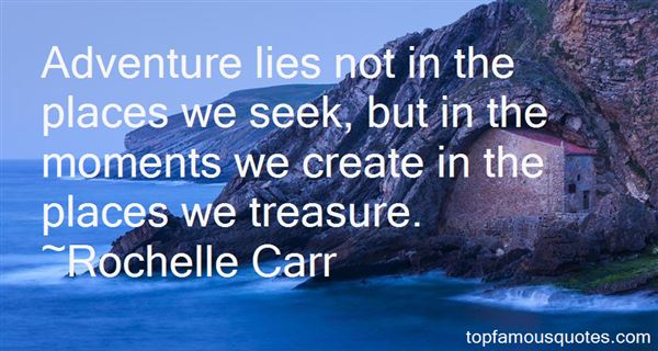Rochelle Carr Quotes