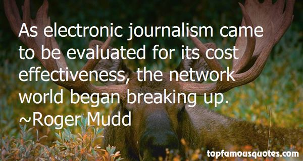 Roger Mudd Quotes
