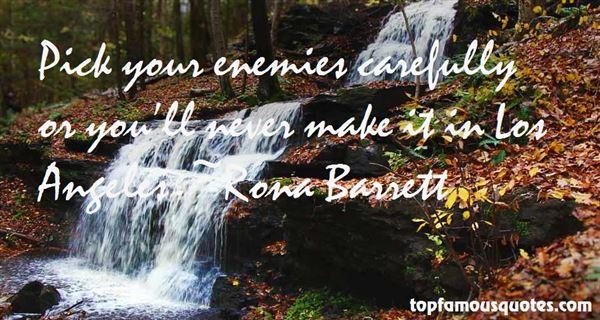 Rona Barrett Quotes