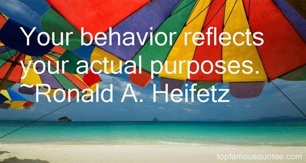 Ronald A. Heifetz Quotes
