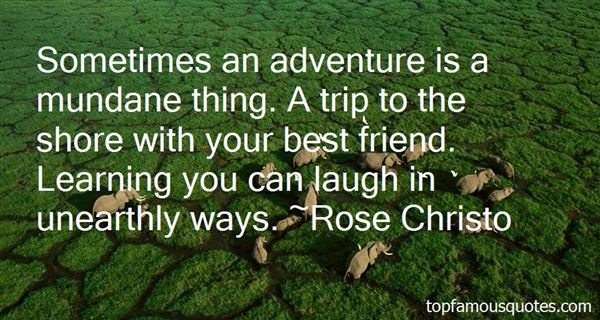 Rose Christo Quotes