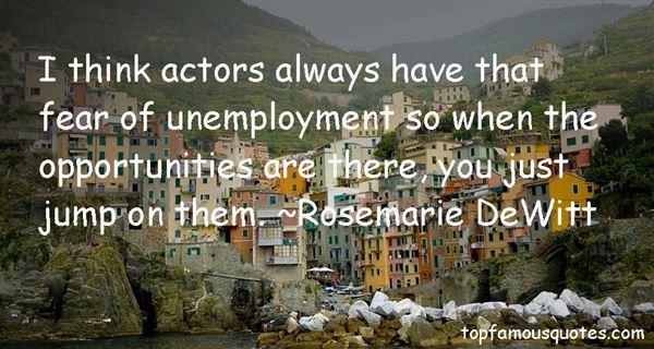 Rosemarie DeWitt Quotes