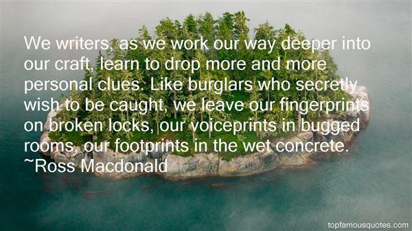 Ross Macdonald Quotes