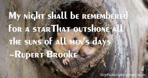 Rupert Brooke Quotes