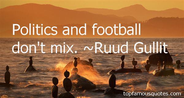 Ruud Gullit Quotes